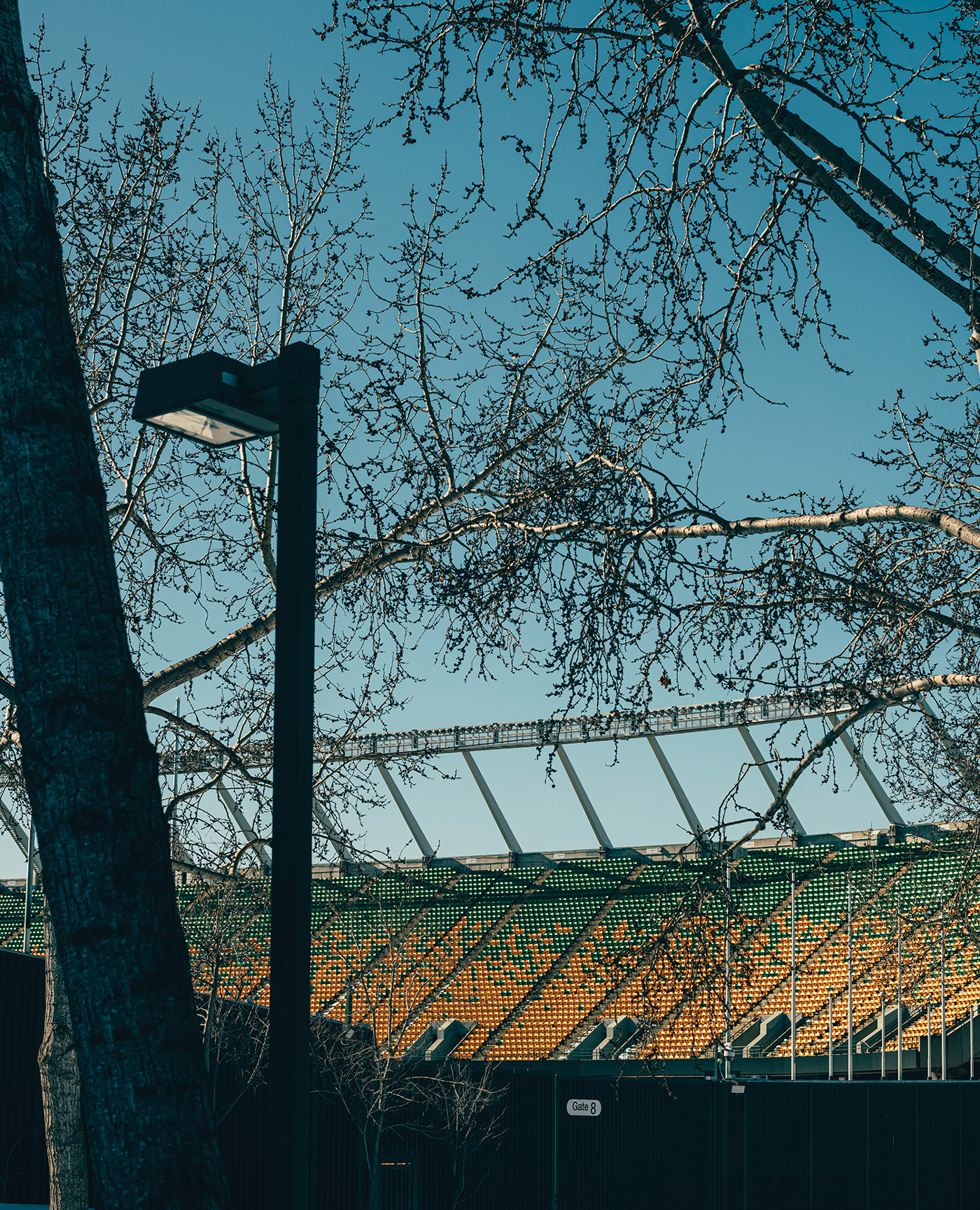 Commonwealth Stadium, Edmonton, from the side