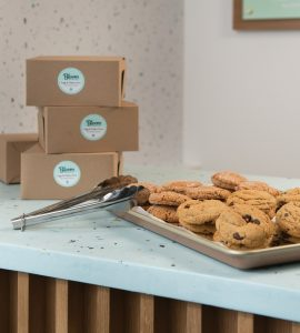 Boxed cookies from Bloom