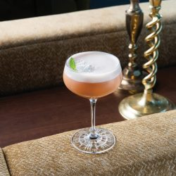 Chai Whiskey Sour