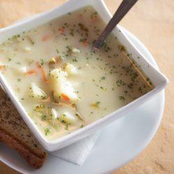 Continental Treat Serves Edmonton's Most Famous Bowl of Pickle Soup