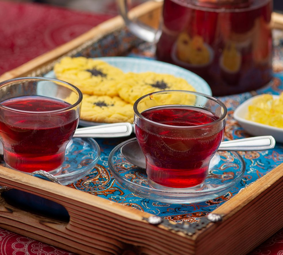 Relax With a Pot of Persian Tea at Lotus Cafe & Gallery