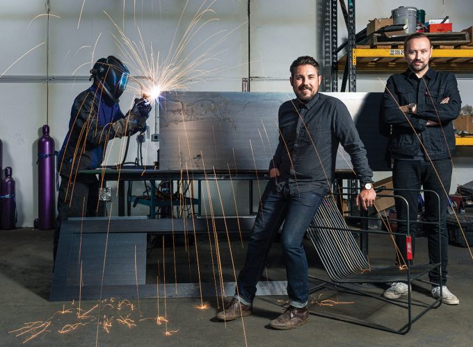 Meet Forge 53, the High-End Custom Metal Furniture and Sculpture Studio Earning Raves
