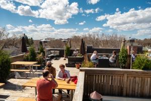 Fox Burger Rooftop Patio Summer 2021