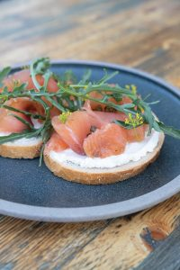 Smoked Salmon Toast at The Greenhouse