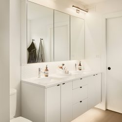 House4_Bathroom_WhiteCabinets_Mirrors