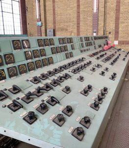 Power Plant, old control panel