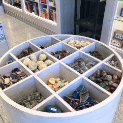 RAM Gift Shop rock bin