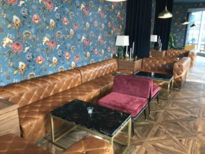 Alchemy's seating area