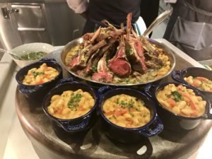 Lamb chops at Rogers Place