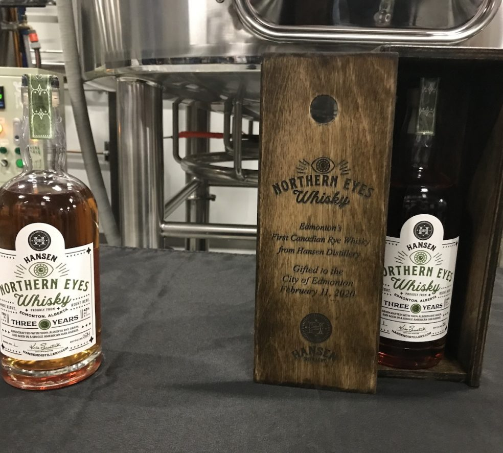 Huge Rush for the First-Ever Whisky Made in Edmonton