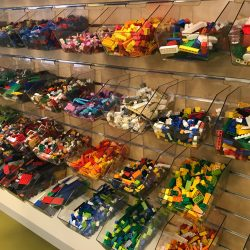 Lego  at the Stanley A, Milner Library, Edmonton,