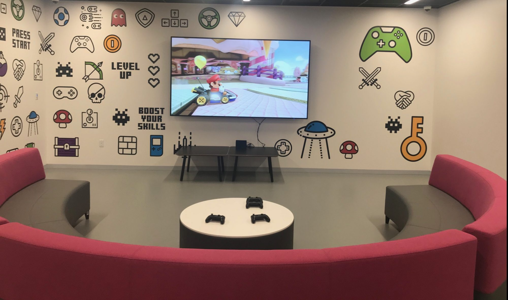 The GamerSpace at the Stanley A, Milner Library, Edmonton,