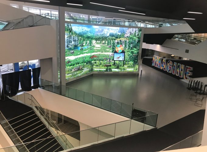 Tour the Revamped Stanley A. Milner Library