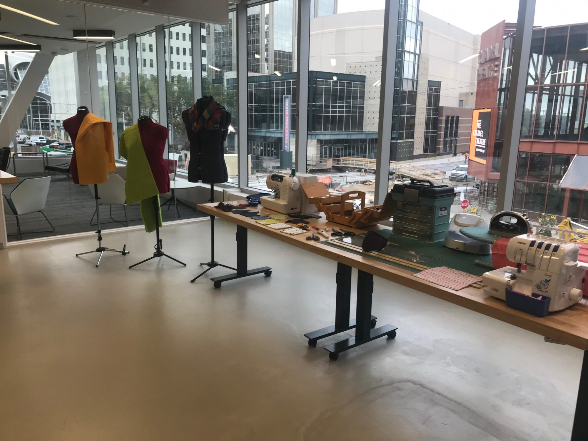 Makerspace  at the Stanley A, Milner Library, Edmonton,