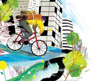Illustration_Bike_Messenger1
