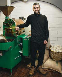 Emad Al Qitta, owner, Al Qitta Nuts in Dunluce