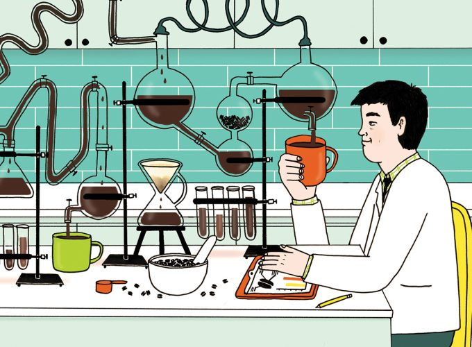 This Edmonton Student Applies Science to His Coffee Brewing Techniques