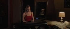 Lauren Beatty in the studio