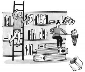 Library_Illo_BW