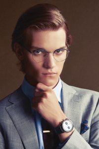 MaleModel_HeadShot_Glasses_WithWatch_LookingAtCamera