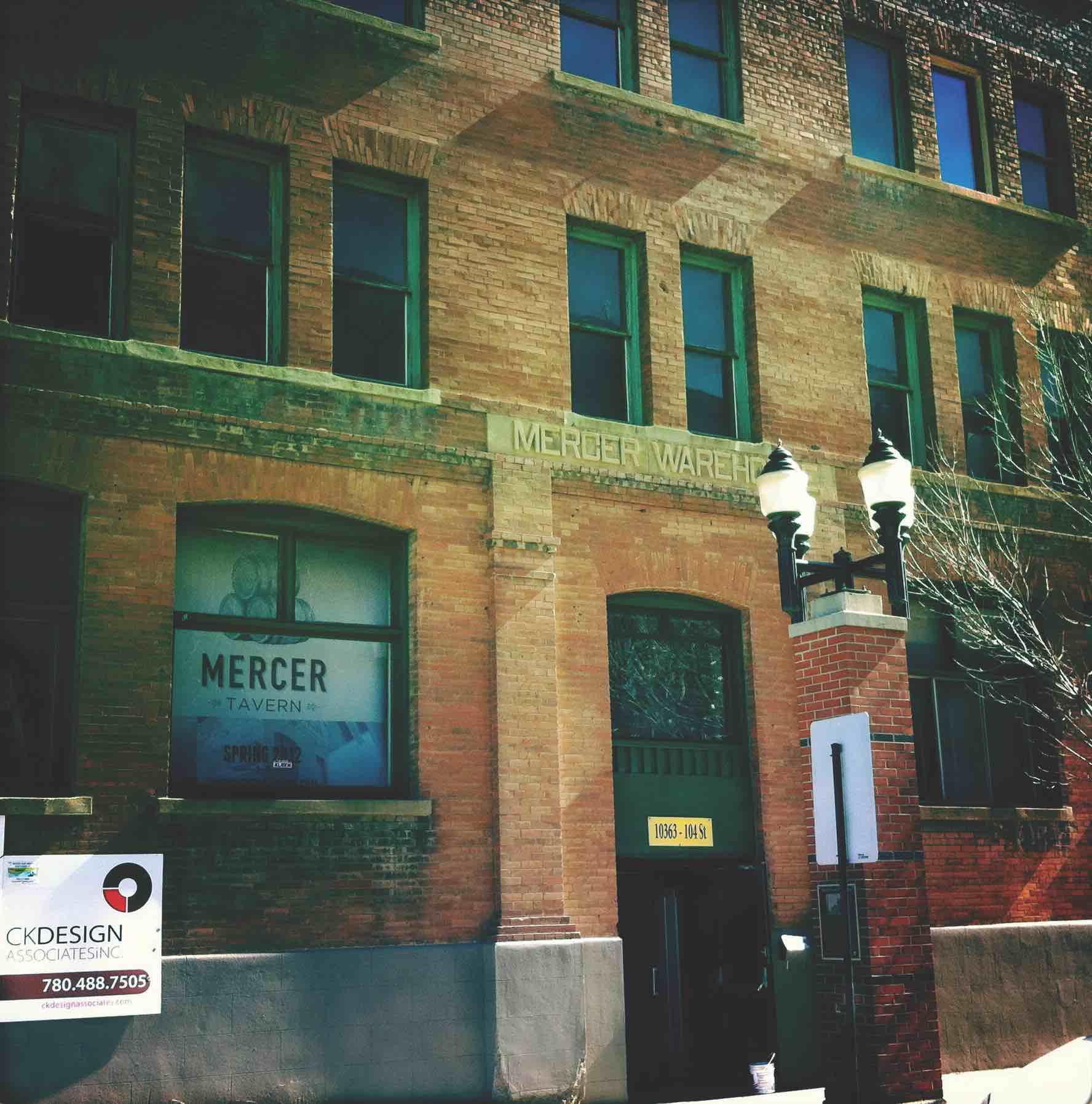 Mercer Block exterior