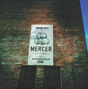 Mercer Block exterior sign