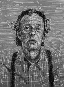 Portrait of Mike, by Maren Kathleen Elliott