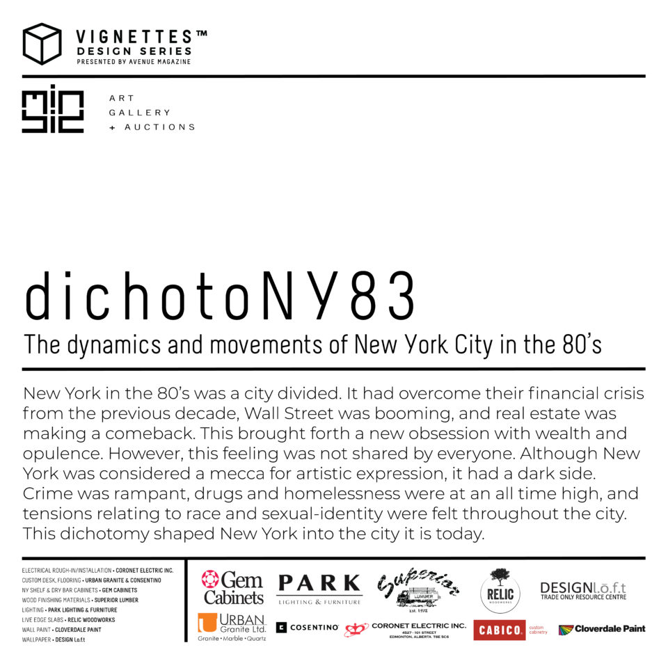 dichotoNY83: The dynamics and movements of New York City in the 80's