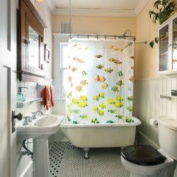 Dave Locky's main-floor bathroom