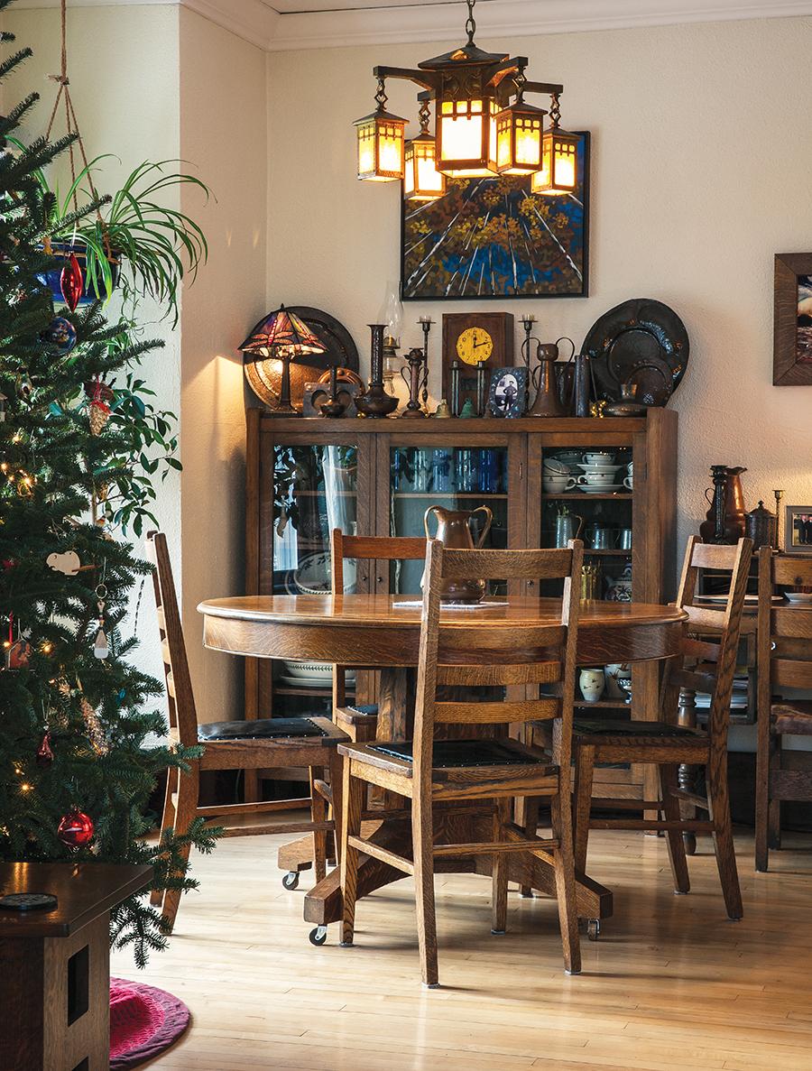 Dave Locky's dining room
