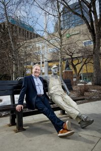 Paul Moulton sitting