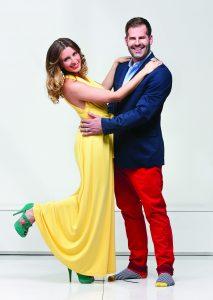 Ryan Jespersen and Kari Skelton, dancing