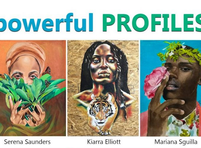 Powerful Profiles: A Virtual Portrait Exhibit by Black Women Artists