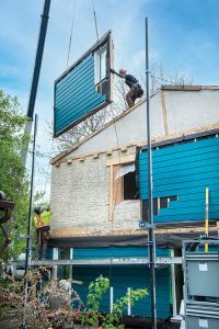 Sundance Housing Co-op siding