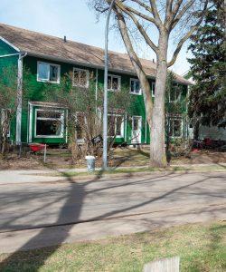 Sundance Housing Co-op green exterior