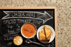 Tomato Soup is an all-time lunch classic at Rosewood Foods