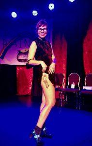 Susan Sanford Blades got a tattoo of her book cover.