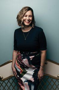 Sarah Hamilton smiling