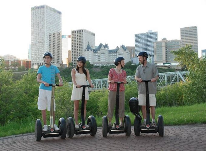 Edmonton River Valley Segway Ride & Tour