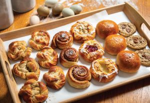 Nice buns! Baked goods are staples in Sweden and are on the menu at Sota Saker