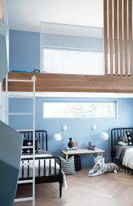 McLean house, bunks