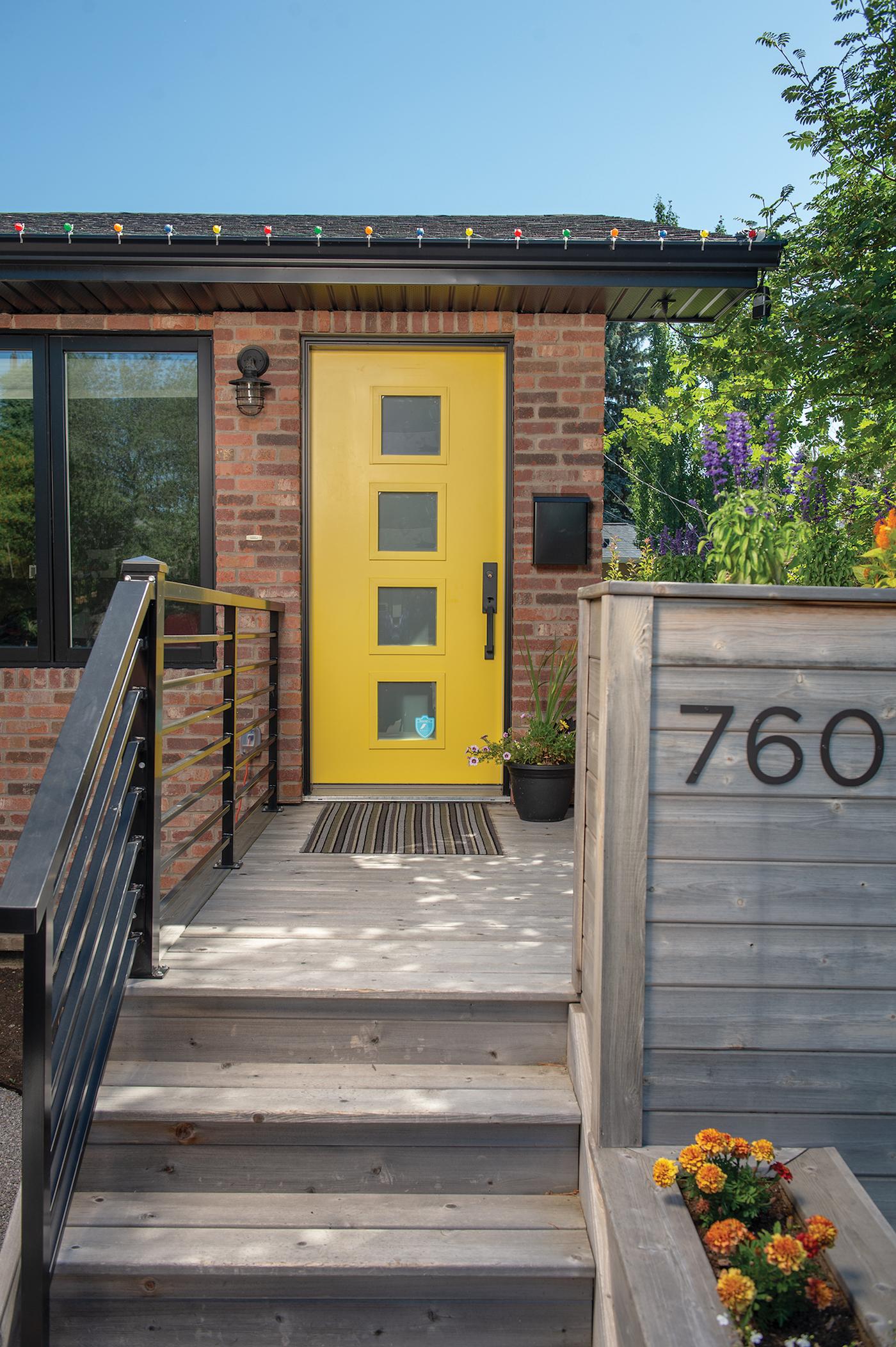 Natasha Chiam's front door