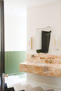 McLean house, vanity
