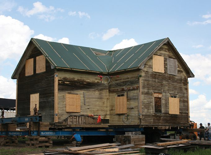 Historical Home Relocated