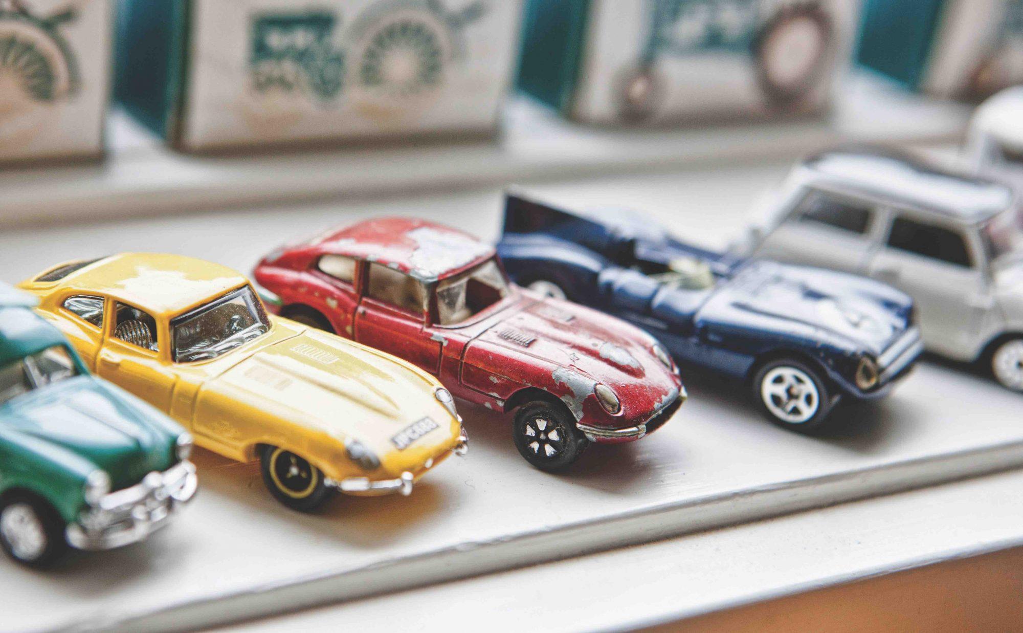 Todd Mahal model cars
