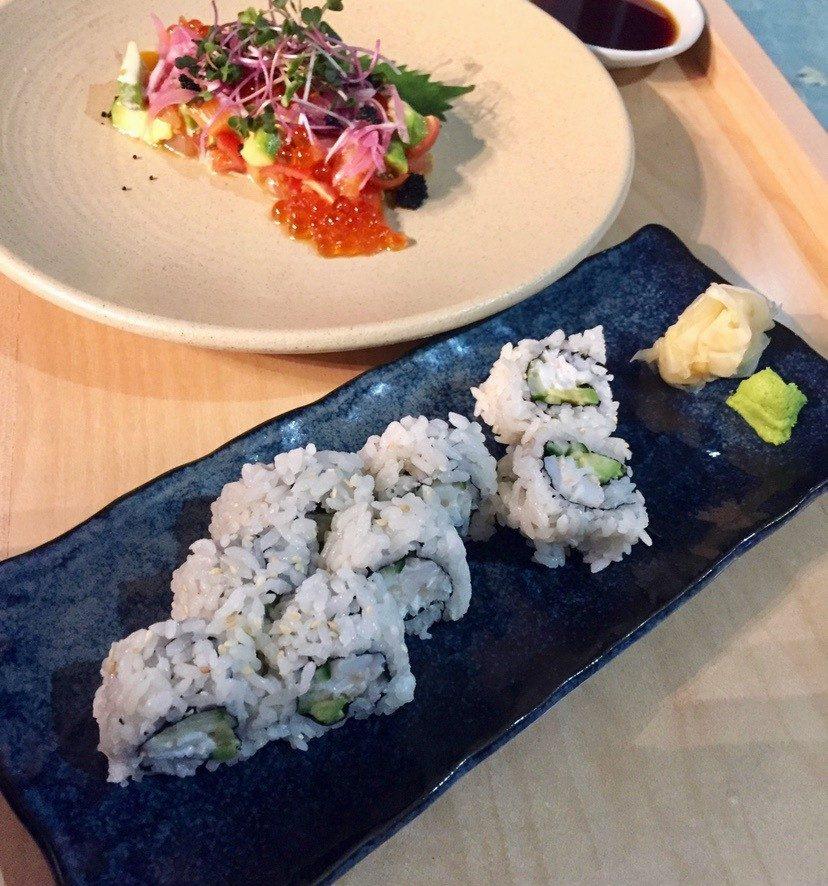 Eat This Now: Salmon Oyako Tartare at Kobachi
