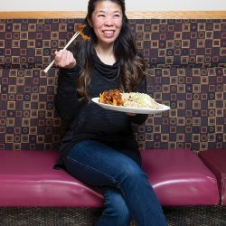 Amy Choy of Bing's family restaurant in Spruce Grove