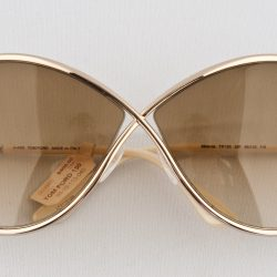 Women's Model 130 Tom Ford sunglasses, $408, from Eye to Eye Optometry (9678 142 St., 780-423-2113).