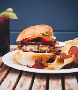 Saskatoon burger