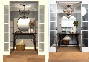 Same room, 2 designs